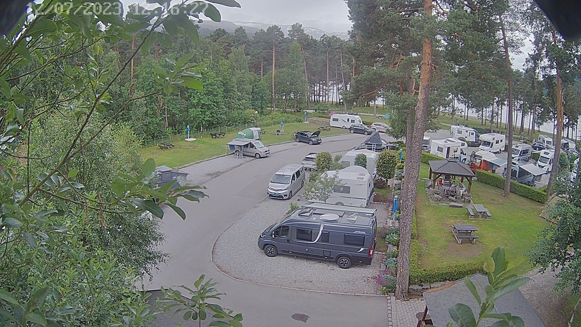 Webcam Vossevangen, Voss, Hordaland, Norwegen